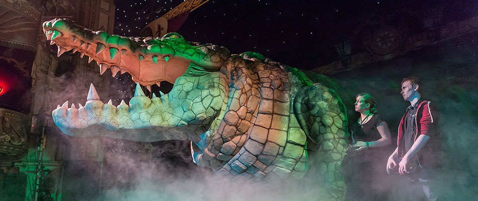 Bill the Croc - Special Effects Animatronics