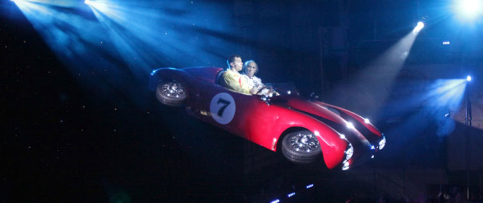 Flying Car - special effects for hire