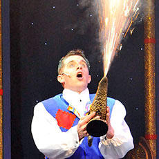 Magic Lamp - special effects for pantomimes