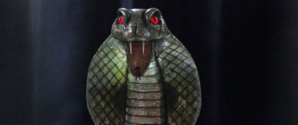 Snakey - special effects animatronics