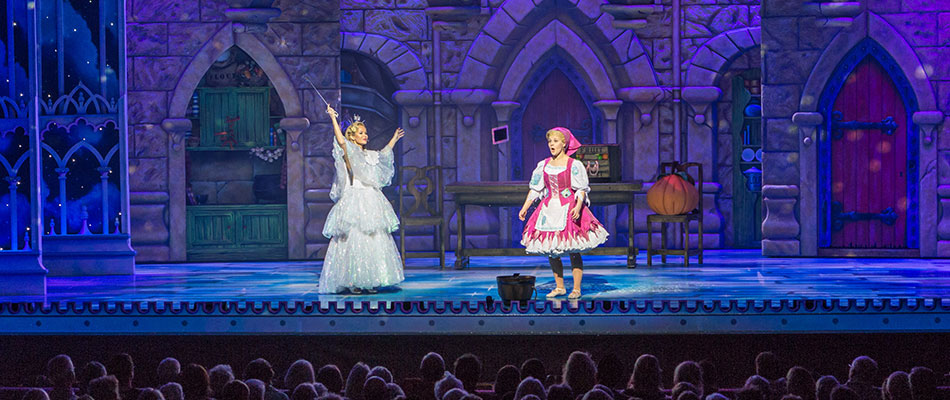 Cinderella - special effects for pantomimes