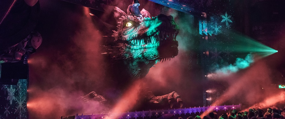 Animatronic Dragon - Special Effects Animatronics from The Twins FX