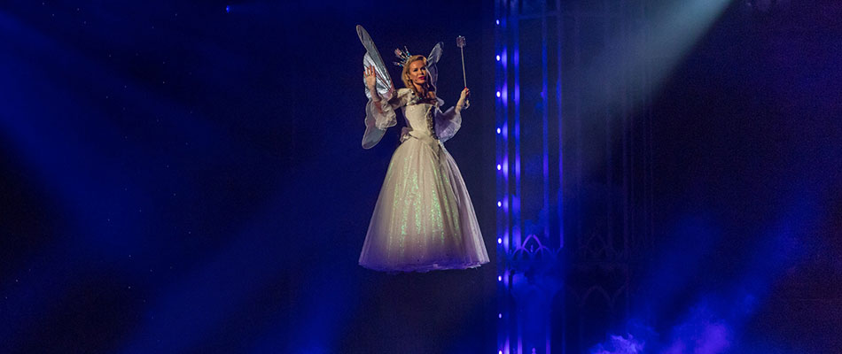 Fairy Flying - Theatrical Magic and Illusion