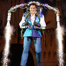 Jet Pack - special effects for pantomimes