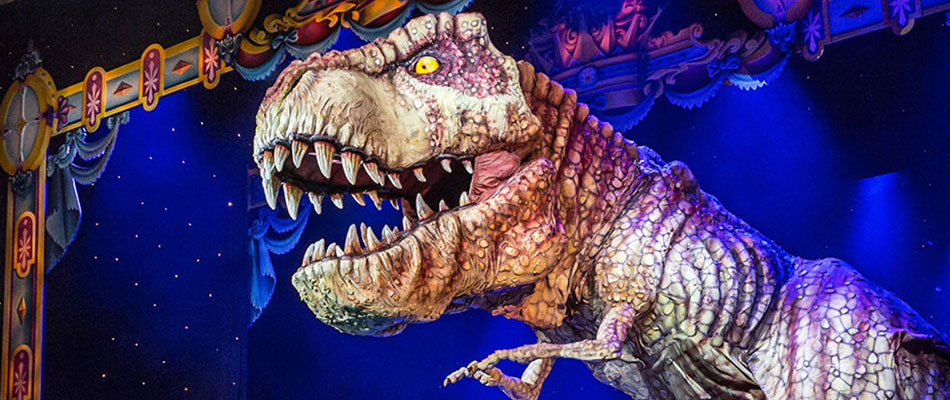 T-Rex - special effects animatronic