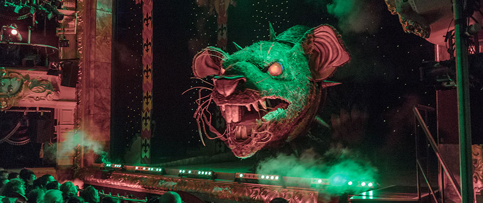 Animatronic Giant Rat - special effects animatronics from The Twins FX