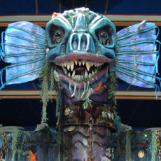 TORCHWOOD the Sea Monster- special effects animatronics